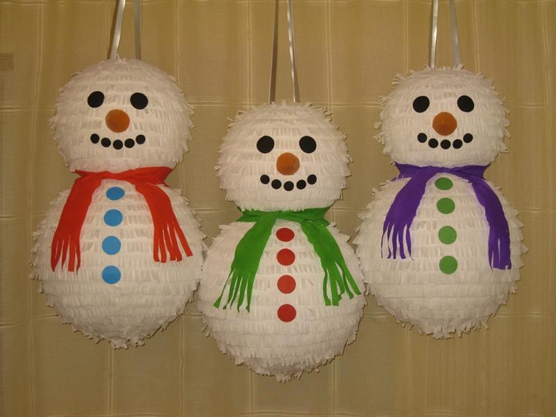 пиньяты новогодние