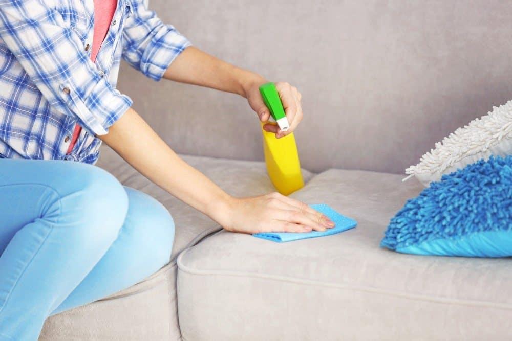 чистка дивана перекисью