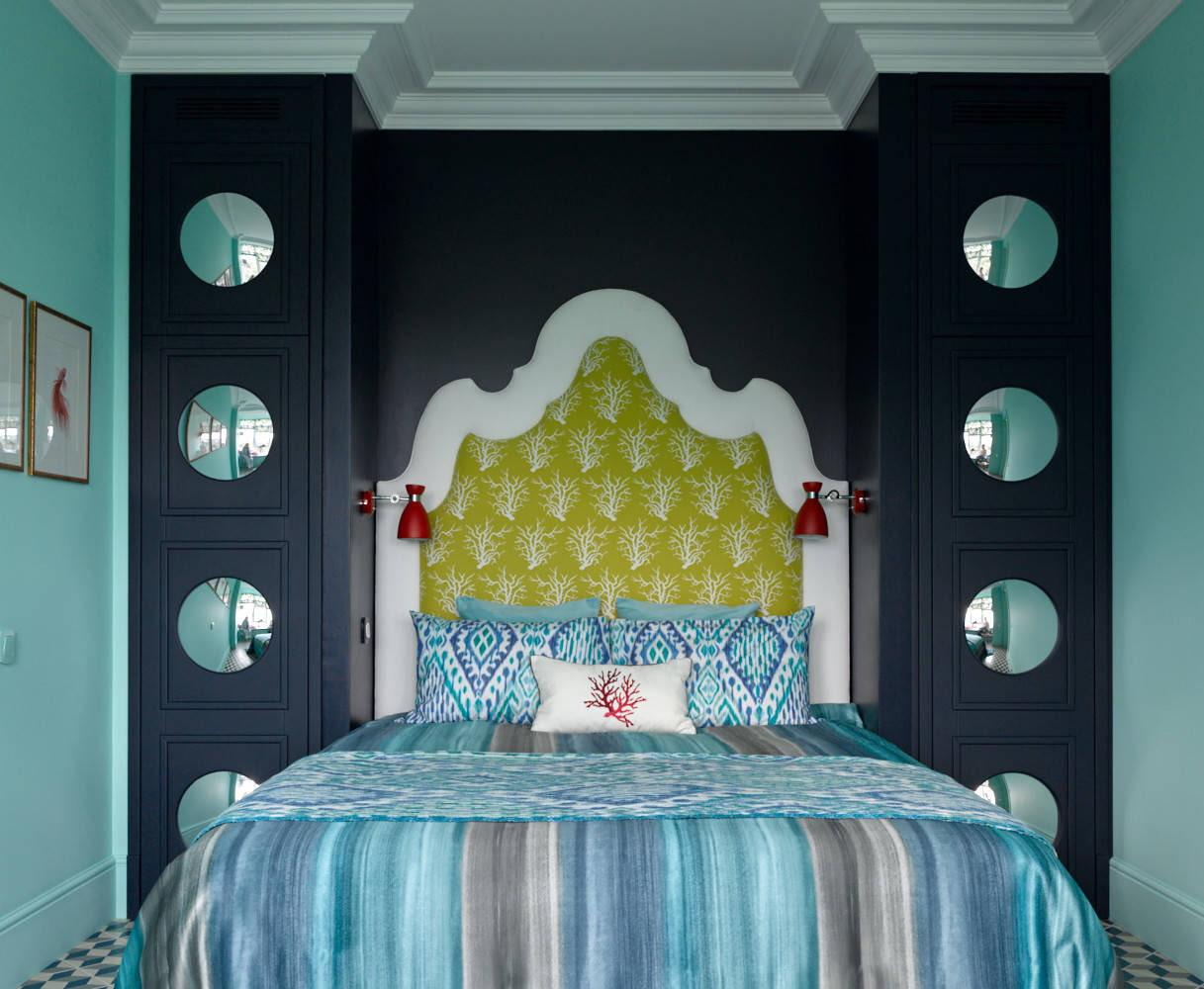 расстановка мебели в спальне идеи
