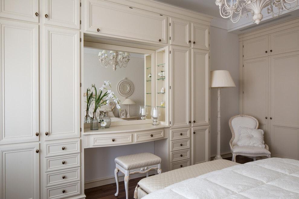 расстановка мебели в спальне дизайн