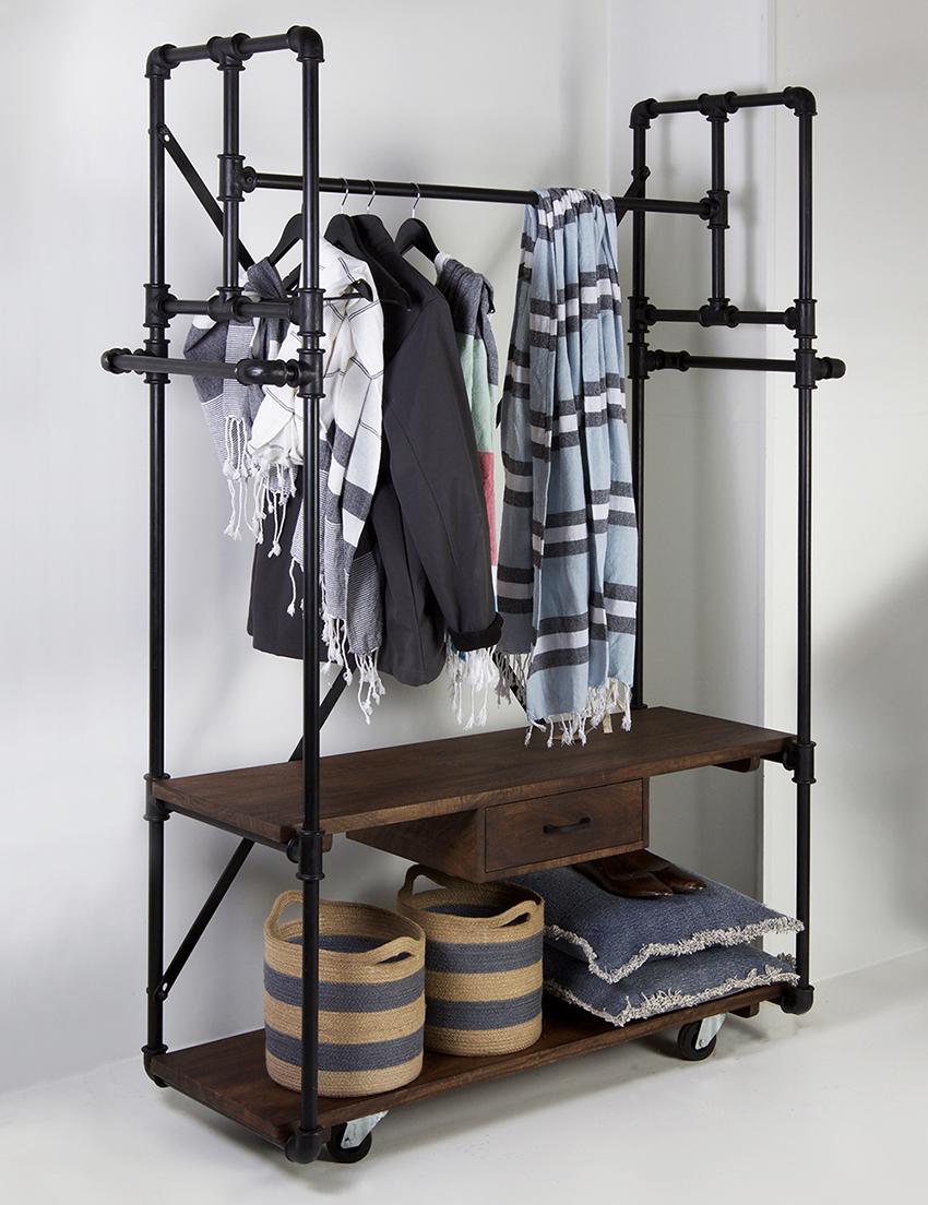 напольная вешалка для одежды фото дизайн