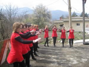 Новата танцова формация на Белоградчик | снимка: общ. Белоградчик