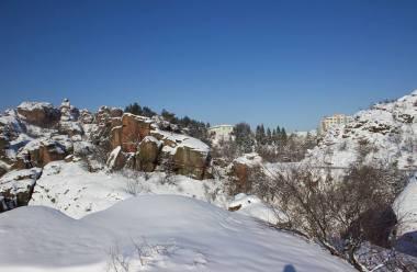 Фотогалерия: Сняг и слънце в Белоградчик