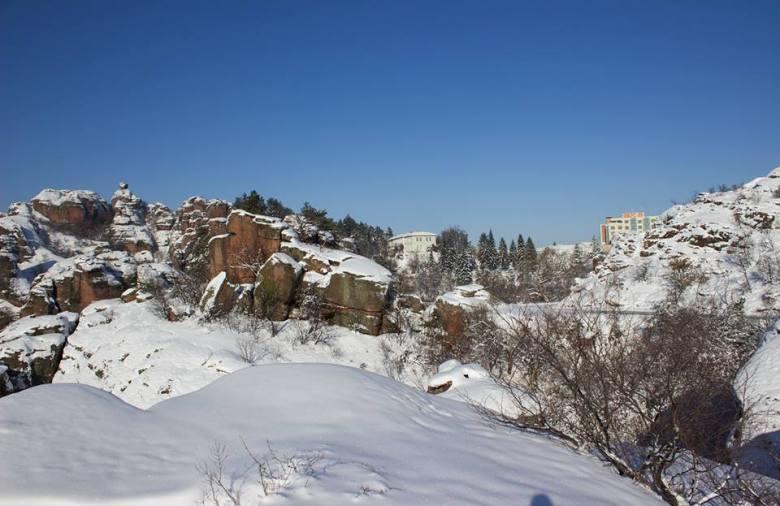 (Bulgarian) Фотогалерия: Сняг и слънце в Белоградчик