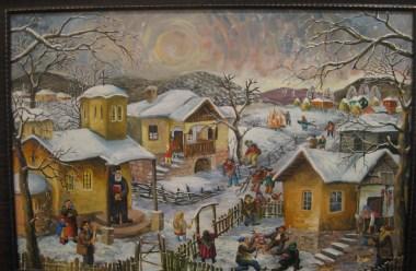 (Bulgarian) Фотогалерия: Селото в изложбата на Димитър Вецин