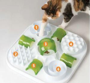Petlebi - Catit Play Treat Puzzle Kedi Zeka Oyuncağı 37cm