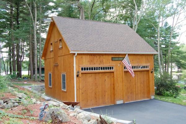 Garages Sevigny Custom Barns Post And Beam