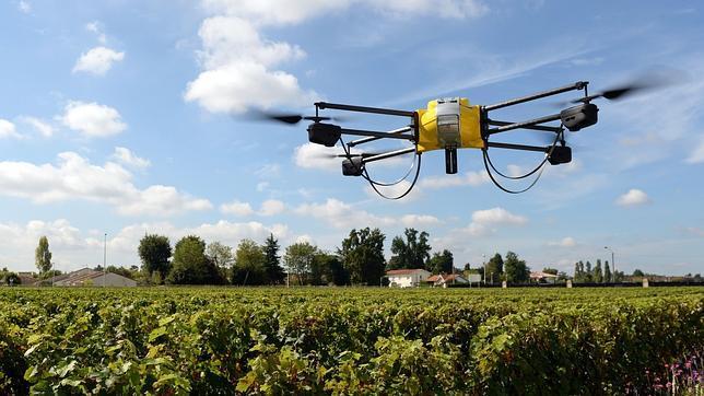 Resultado de imagen para drone en el campo