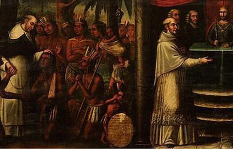 Así fue la lucha en el Imperio español por defender los derechos de la población indígena