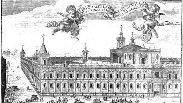 El Hospital de la Sangre, o de las Cinco Llagas, fue el epicentro de la batalla contra la peste