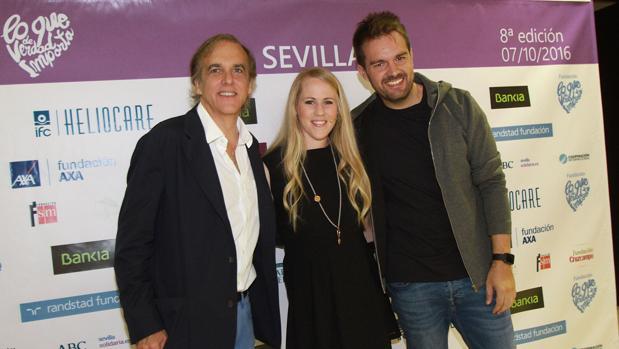 David Moreno, Caroline Larsson y Paco Arango, ponentes de «Lo que de verdad importa»