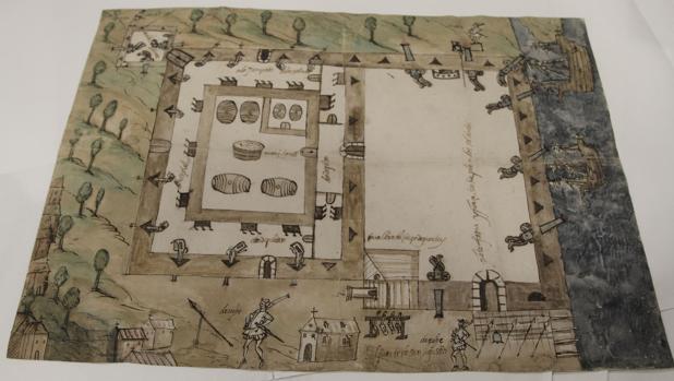 Plano del Fuerte de San Agustín