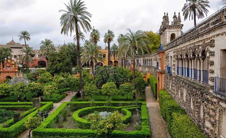 Visitar el Real Alcazar de Sevilla gratis