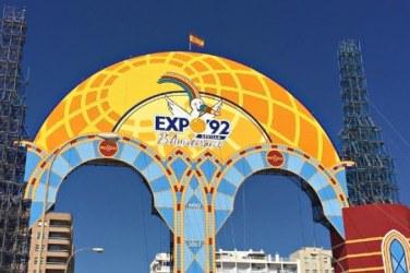Portada Expo92 Feria Abril