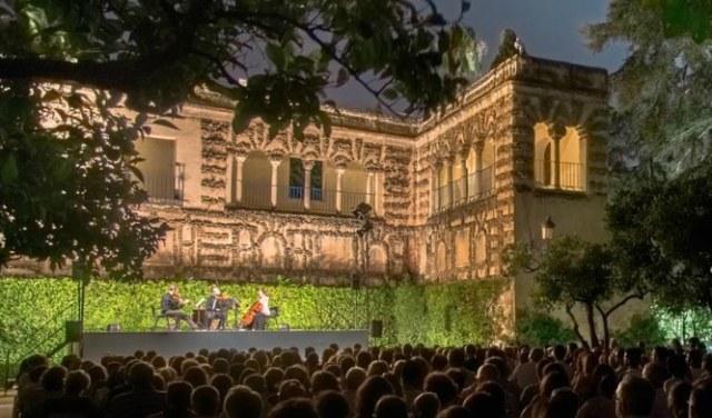 Alcazar Sevilla concierto