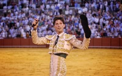 Ángel Jiménez, segunda corrida de matador de toros el sábado en Utrera