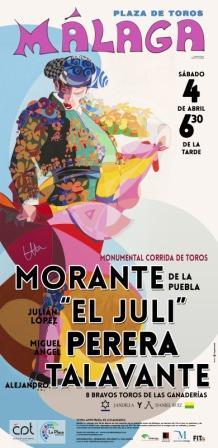 Cartel La Malagueta 4 de abril