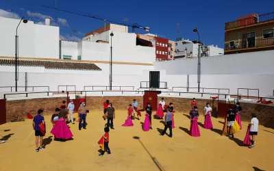 La Escuela Taurina de Sevilla vuelve a la actividad en la Venta de Antequera