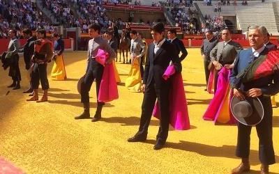 Espartaco corta una oreja en el festival de Granada