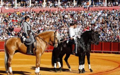 Rejones – Fermín Bohórquez – Hermoso de Mendoza, Lea Vicens y Guillermo Hermoso de Mendoza