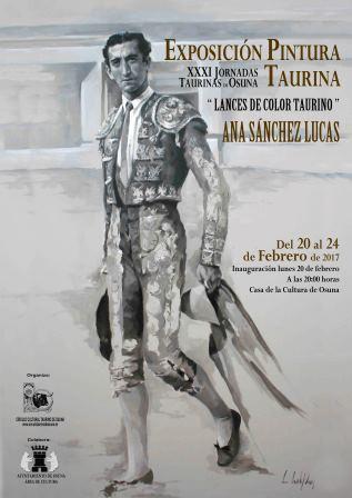 Osuna - cartel EXPOSICION PINTURA EN LAS XXXI JORNADAS