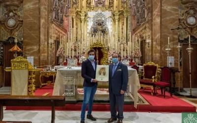 Diego Ventura visita la Hermandad de la Macarena