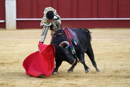 //Andalucia// 20-8-2015  Malaga Quinta corrida mixta de feria en la malagueta para los espadas  Diego Ventura,  El Juli y Perera Fotografo  ANTONIO PASTOR