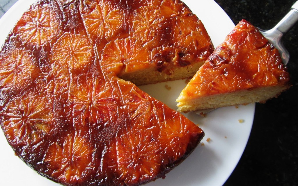 The genuine bitter orange cake