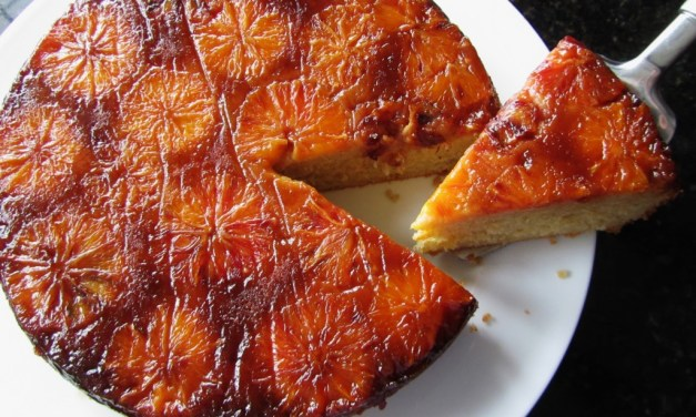 The genuine bitter orange cake