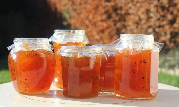 Seville orange and cardamom seed marmalade, by Jo Clark
