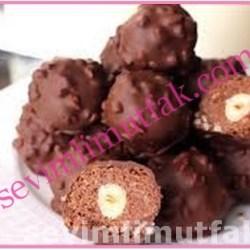 Ev Yapımı Ferrero Rocher Çikolata Nasıl Yapılır?