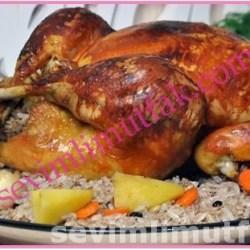 İç Pilavlı Tavuk Dolma Nasıl Yapılır?