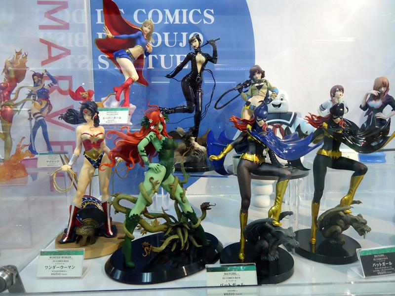 Mulheres da DC da Kotobukiya