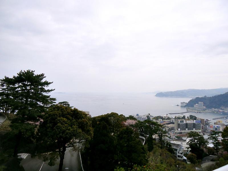vista da cidade de Atami