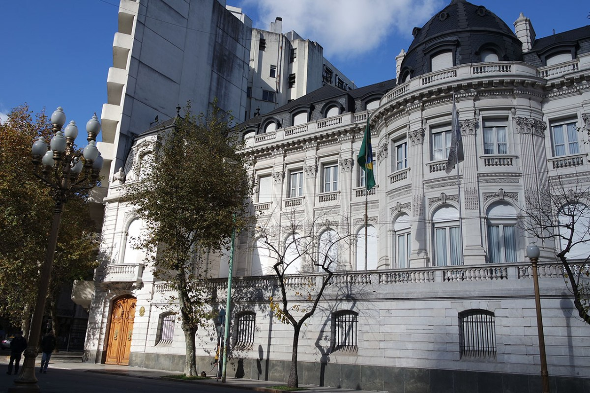 Casa do embaixador brasileiro em Buenos Aires