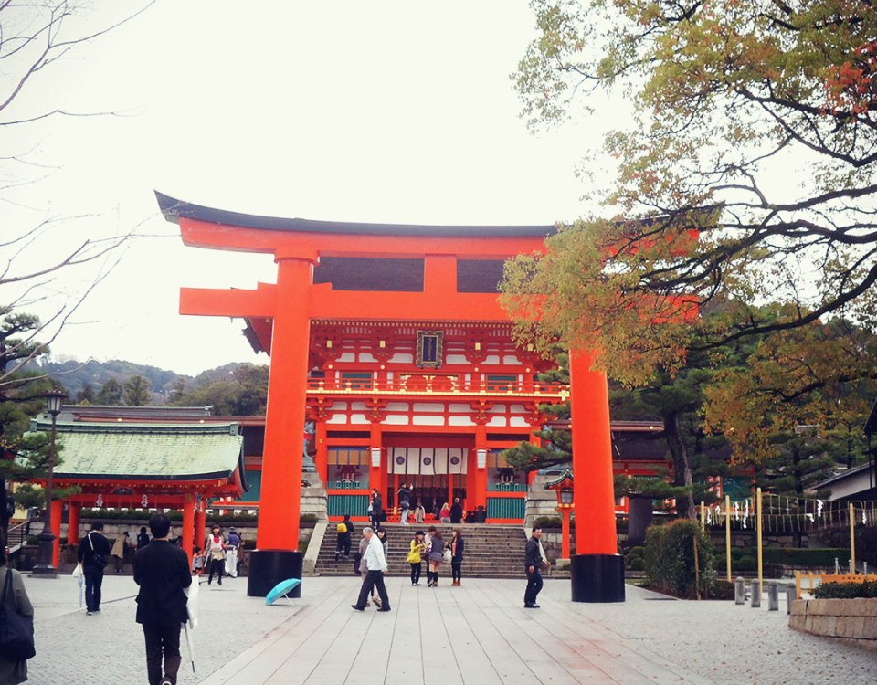 Santuário Fushimi Inari em Kyoto