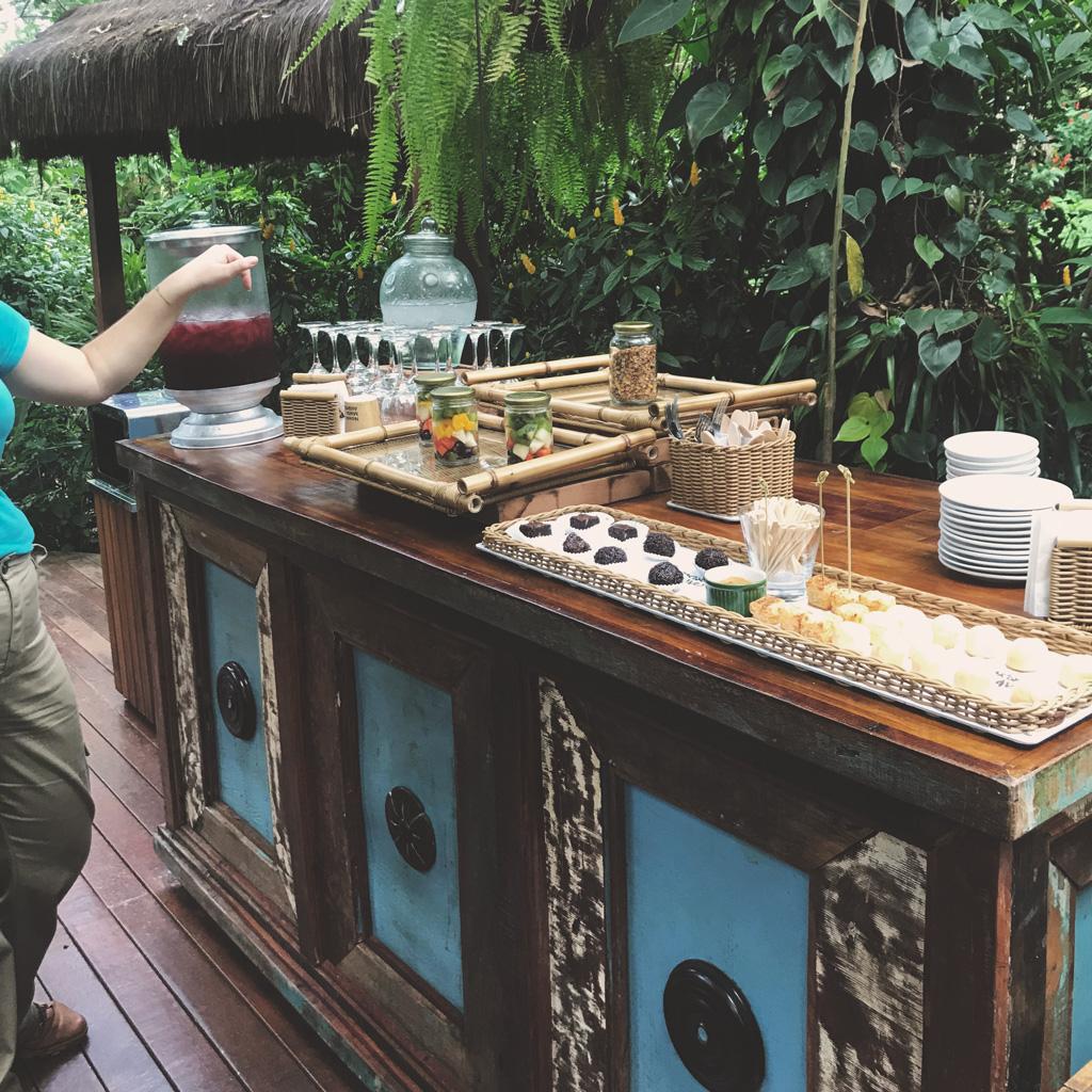Café-da-manhã do tour