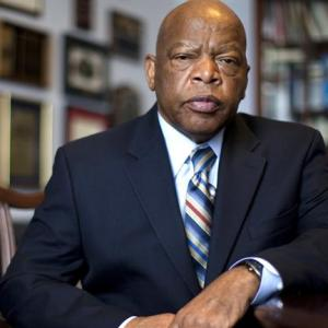 Congressman John Lewis is a civil rights icon who was mentored by Dr. Martin Luther King, Jr.
