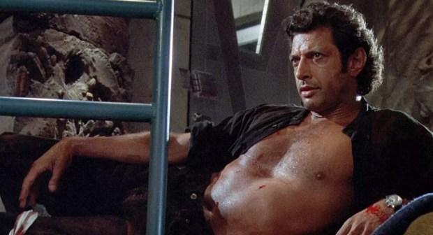 Jeff Goldblum Shirtless