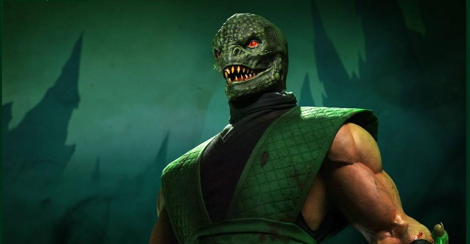 Image result for reptile mortal kombat
