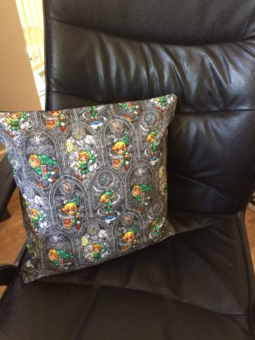 40 x 40cm Poly-Cotton Cushion Cover (with or without filling)