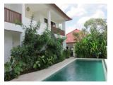 swimming pool, building with teras & balcony