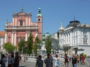 Lubjana City Centre