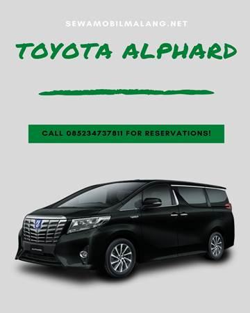 Sewa Alphard Malang Rp. 2.500.000