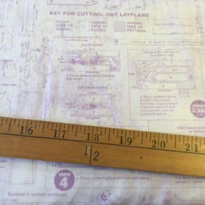 sewing pattern cotton fabric
