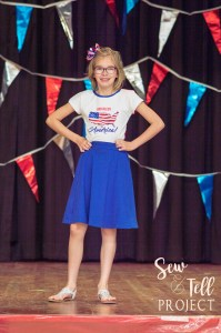 Little Miss Sunshine Tee and Spunky Girl Skater Skirt