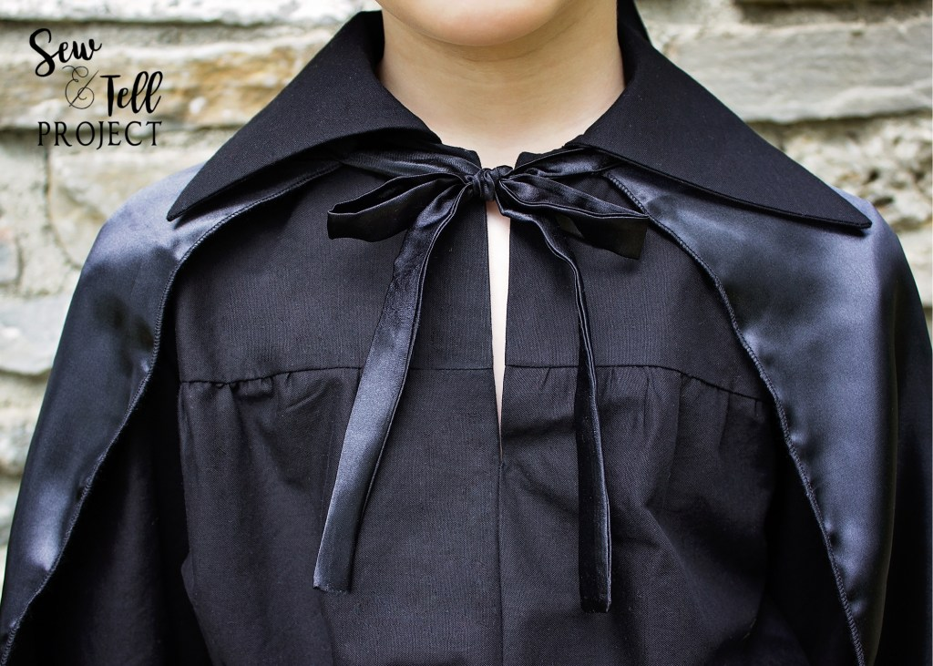 Zorro Costume Shirt Closeup - Project Run and Play