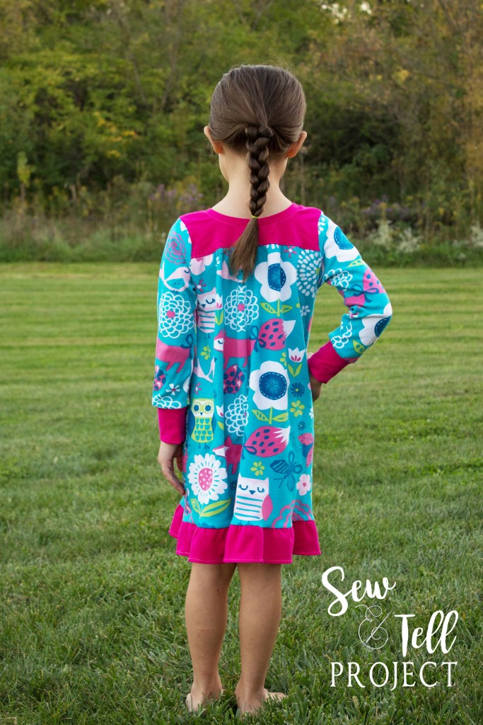New Dreamland Nightgown from Peekaboo Pattern Shop