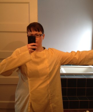 Yuzu coat muslin before 2