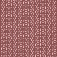 Biona Brick Red cotton fabric (per metre)